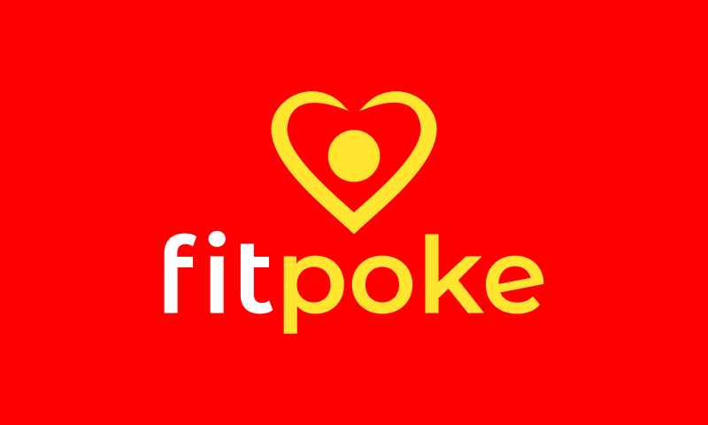 Fitpoke - Fitness domain name for sale