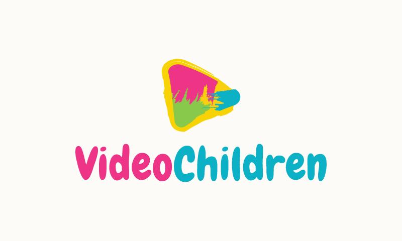 Videochildren - Video domain name for sale