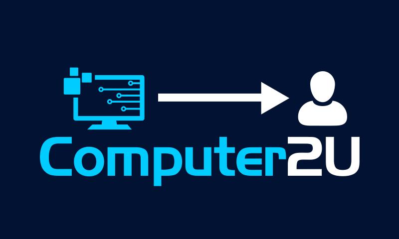 Computer2u - Hardware startup name for sale