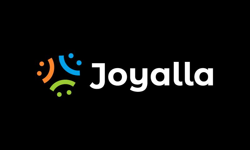 Joyalla - E-commerce domain name for sale