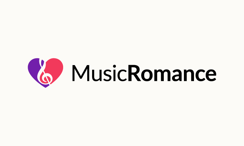 Musicromance - Audio business name for sale