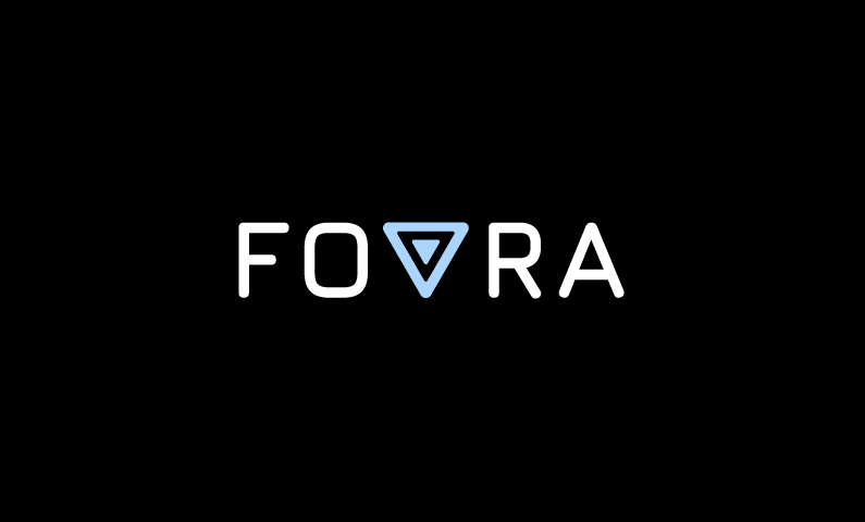 fovra logo - Original 5-letter domain name