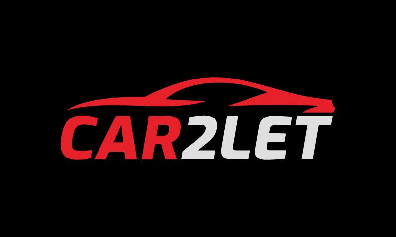 Car2let - Automotive domain name for sale