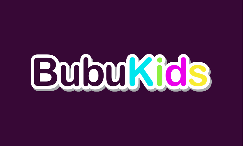 Bubukids - Retail domain name for sale