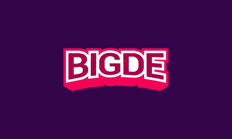 bigde logo