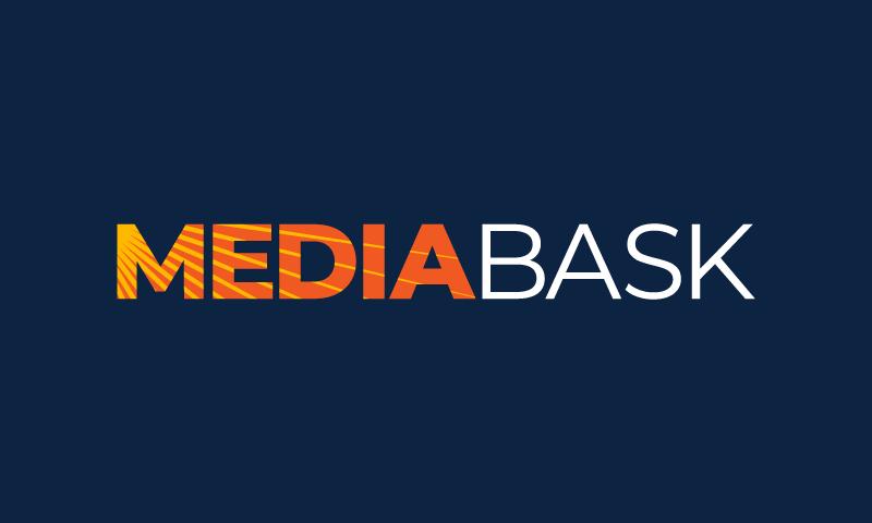 Mediabask - Media brand name for sale