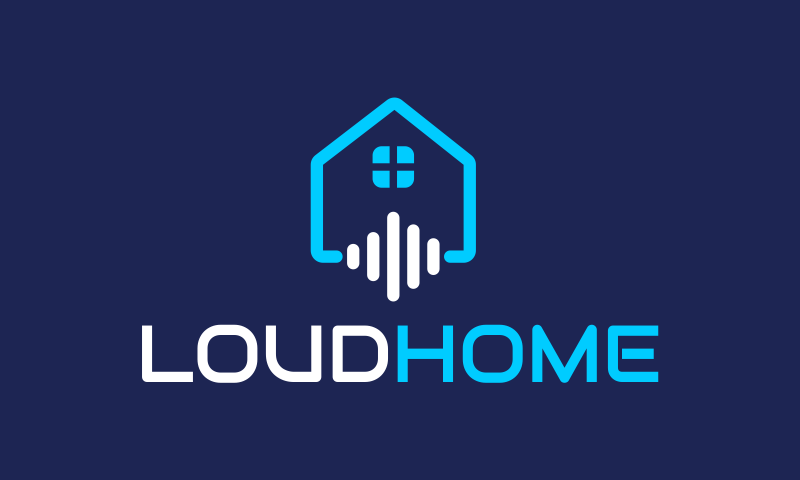 Loudhome - Smart home startup name for sale