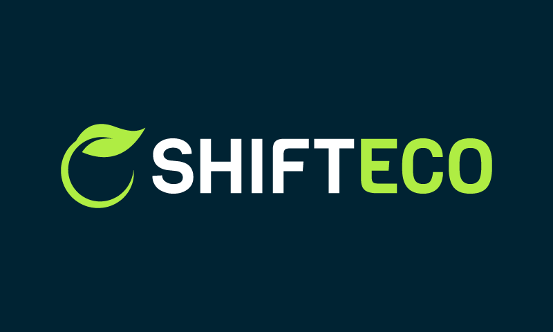 Shifteco - Environmentally-friendly product name for sale