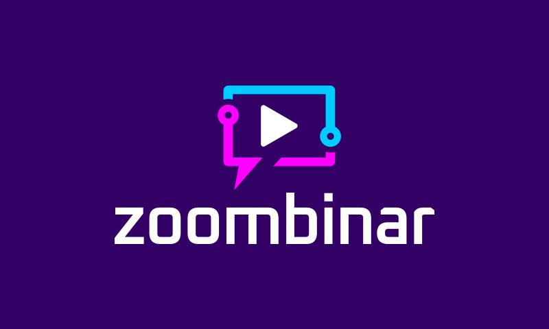 Zoombinar - Conferences startup name for sale