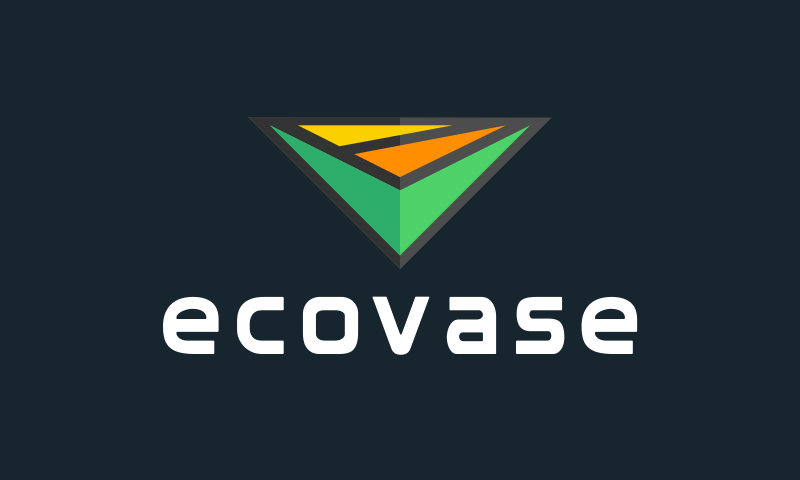 Ecovase - Green industry startup name for sale