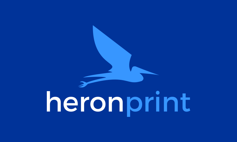 Heronprint - Print startup name for sale