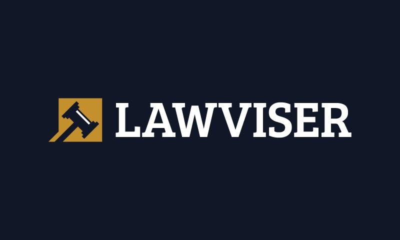 Lawviser - Law brand name for sale