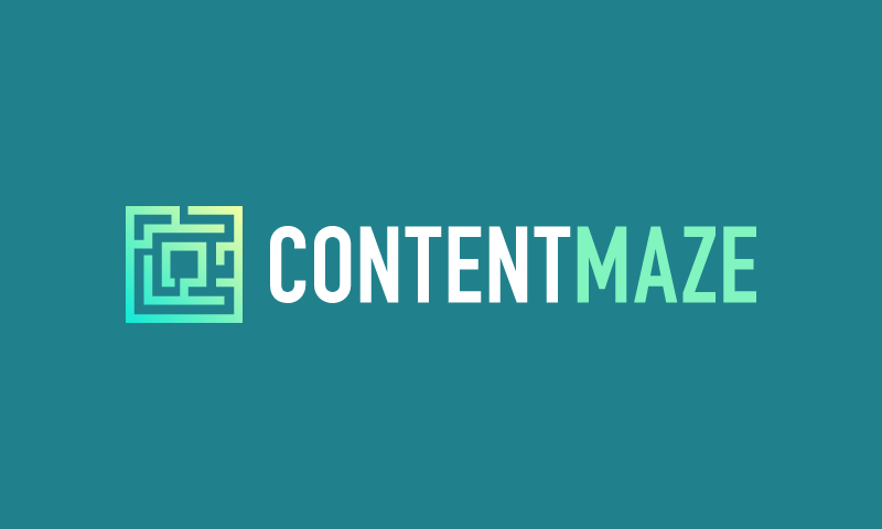 Contentmaze - Marketing domain name for sale