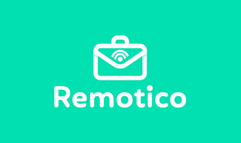 Remotico - Recruitment brand name for sale