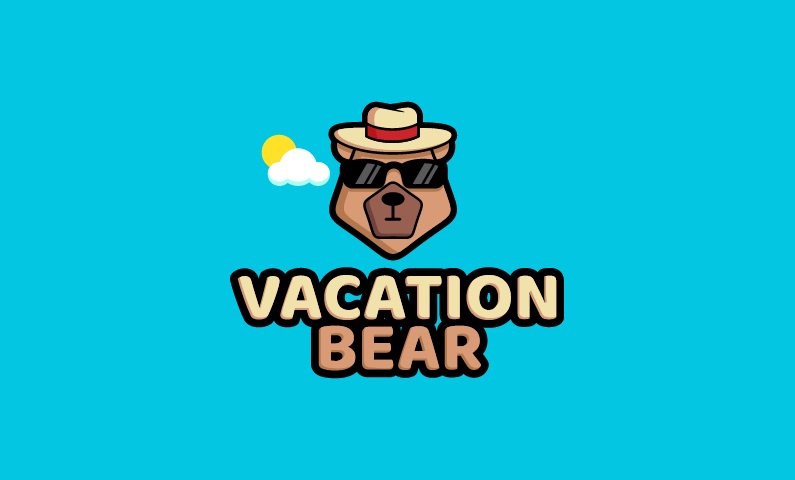 Vacationbear - Travel brand name for sale