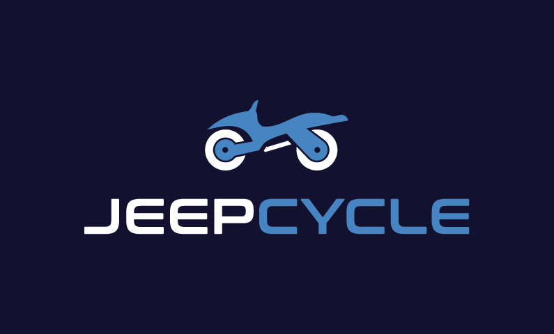 Jeepcycle - E-commerce startup name for sale