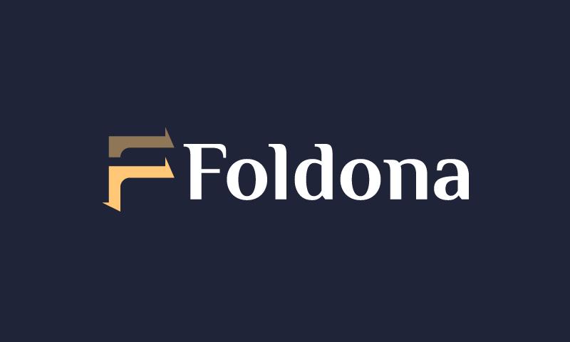 Foldona - Potential brand name for sale