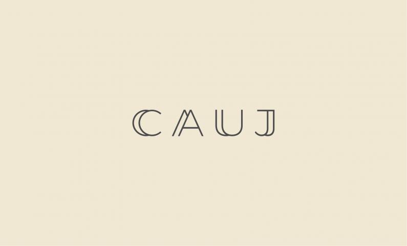 CAUJ logo - Abstract domain name