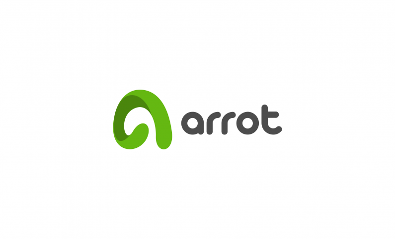 arrot logo - Powerful abstract brand name