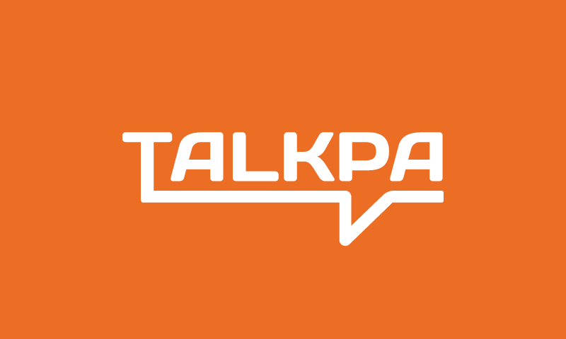 Talkpa - Business domain name for sale