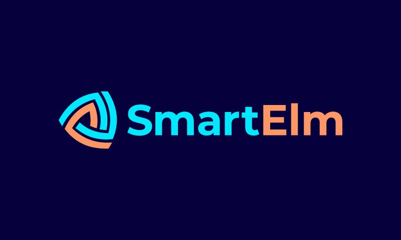 Smartelm - Smart home startup name for sale