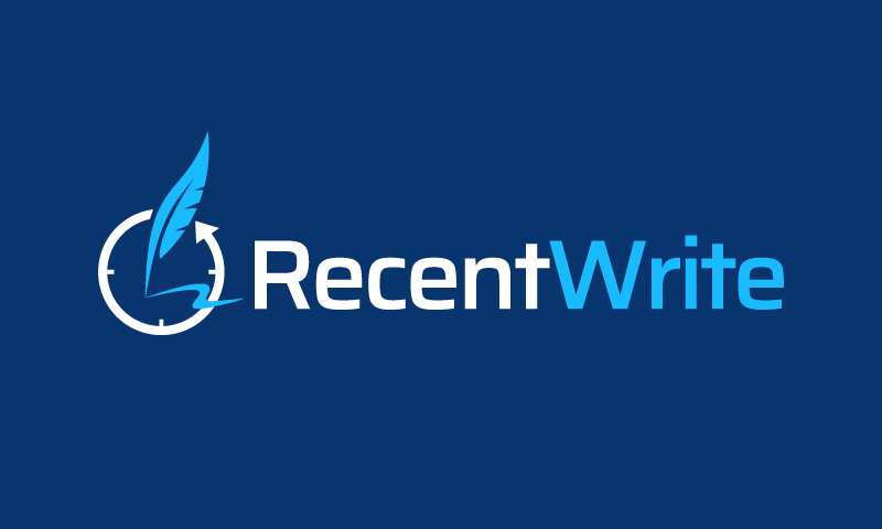 Recentwrite - Writing startup name for sale