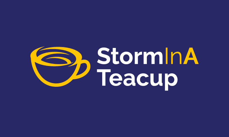 Storminateacup - Retail startup name for sale