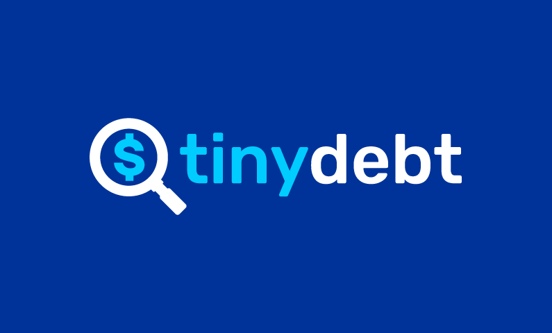 Tinydebt - Finance startup name for sale