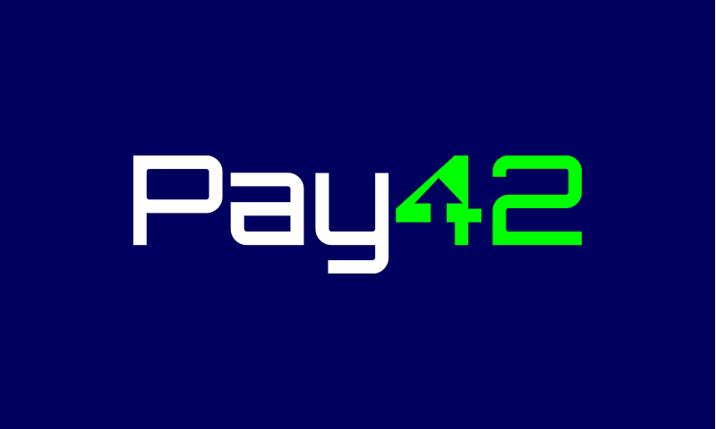 Pay42 - Banking startup name for sale