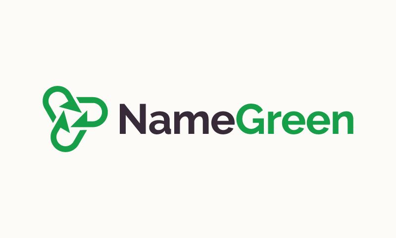 Namegreen - Environmentally-friendly domain name for sale