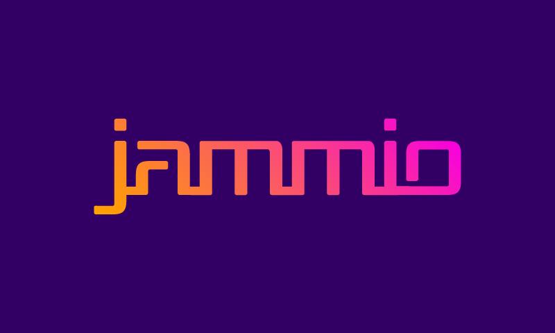 Jammio - Music domain name for sale