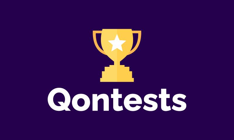 Qontests - Online games startup name for sale