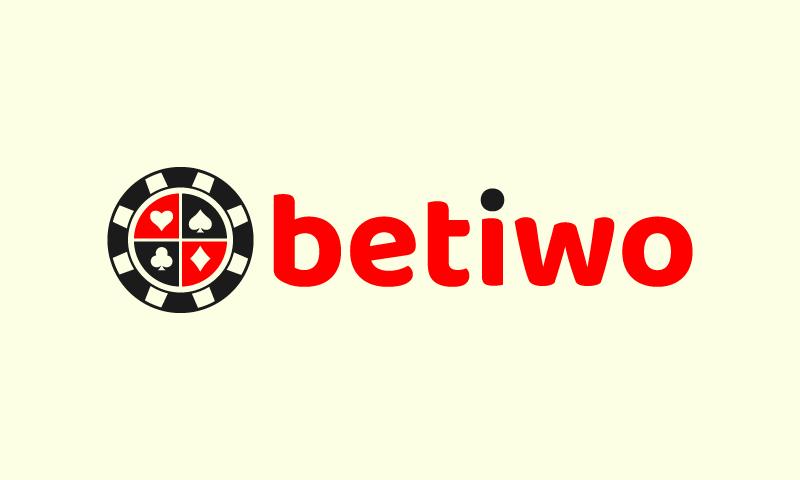 Betiwo - Gambling brand name for sale