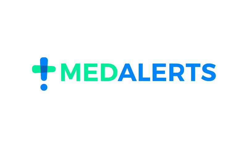 Medalerts - Health startup name for sale