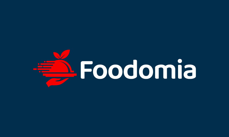 Foodomia - Dining startup name for sale