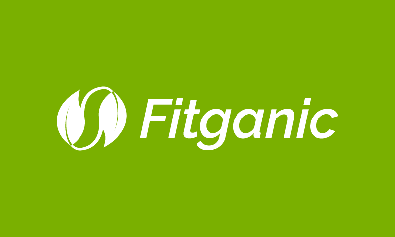 Fitganic - Wellness brand name for sale
