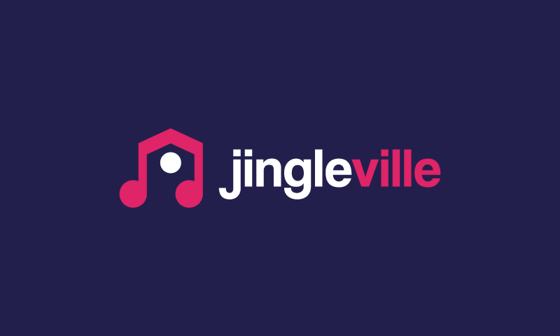 Jingleville - Contemporary domain name for sale
