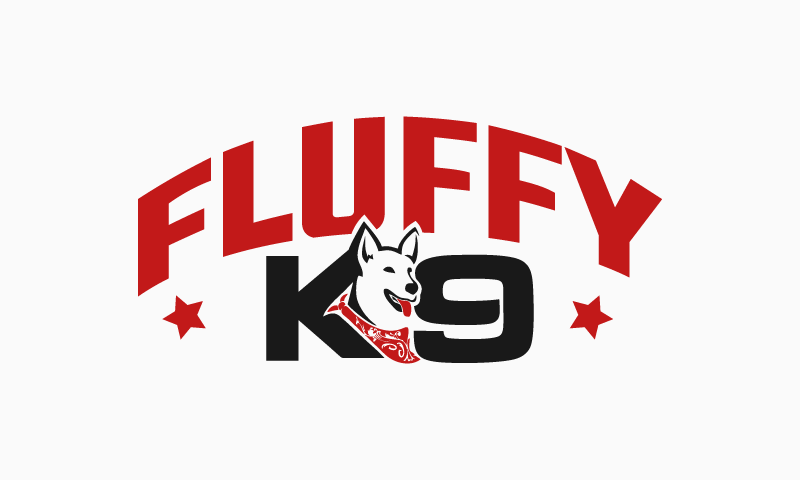 Fluffyk9 - Business startup name for sale