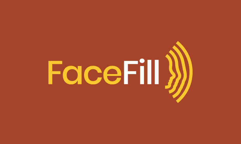 Facefill - Media company name for sale