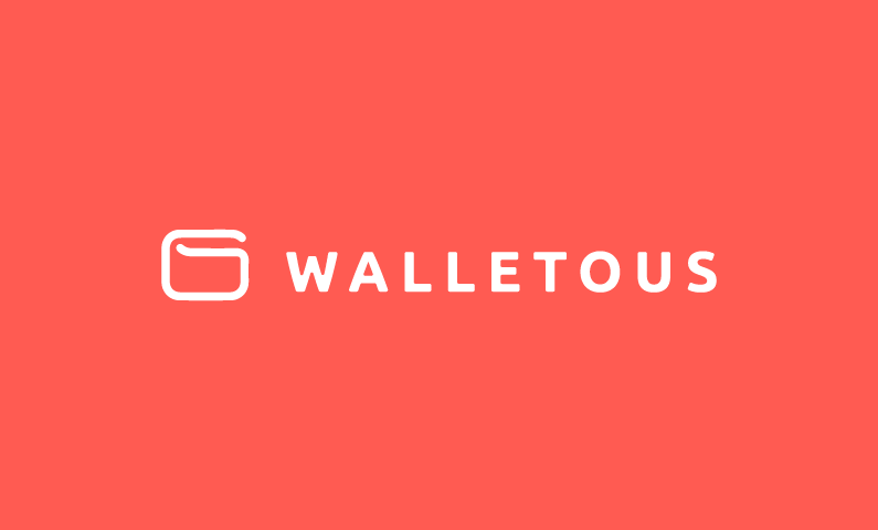Walletous - Cryptocurrency startup name for sale