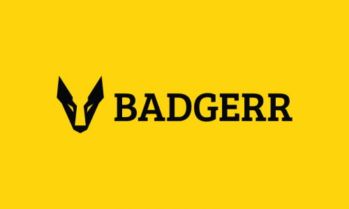 Badgerr - Widely-appealing company name for sale