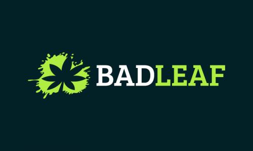 Badleaf - Healthcare startup name for sale