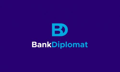Bankdiplomat - Banking company name for sale