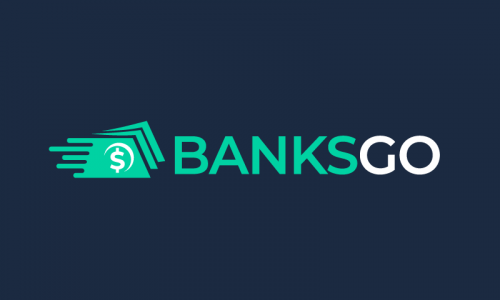 Banksgo - Banking brand name for sale