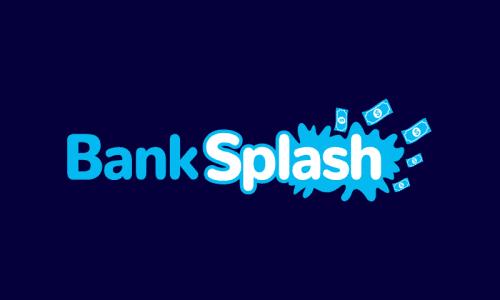 Banksplash - Banking domain name for sale
