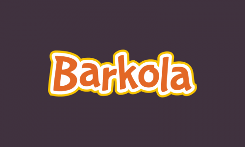 Barkola - E-commerce domain name for sale