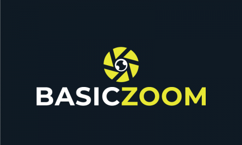 Basiczoom - Video company name for sale