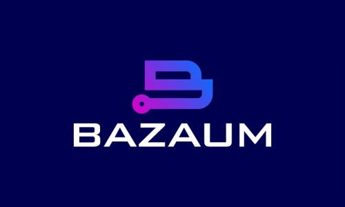 Bazaum - Technology startup name for sale