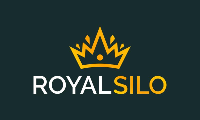 Royalsilo - Retail startup name for sale