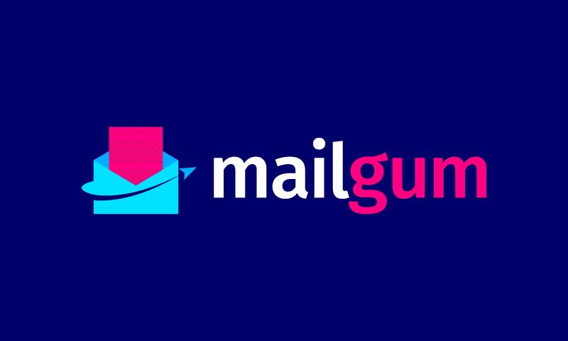 Mailgum - Internet business name for sale